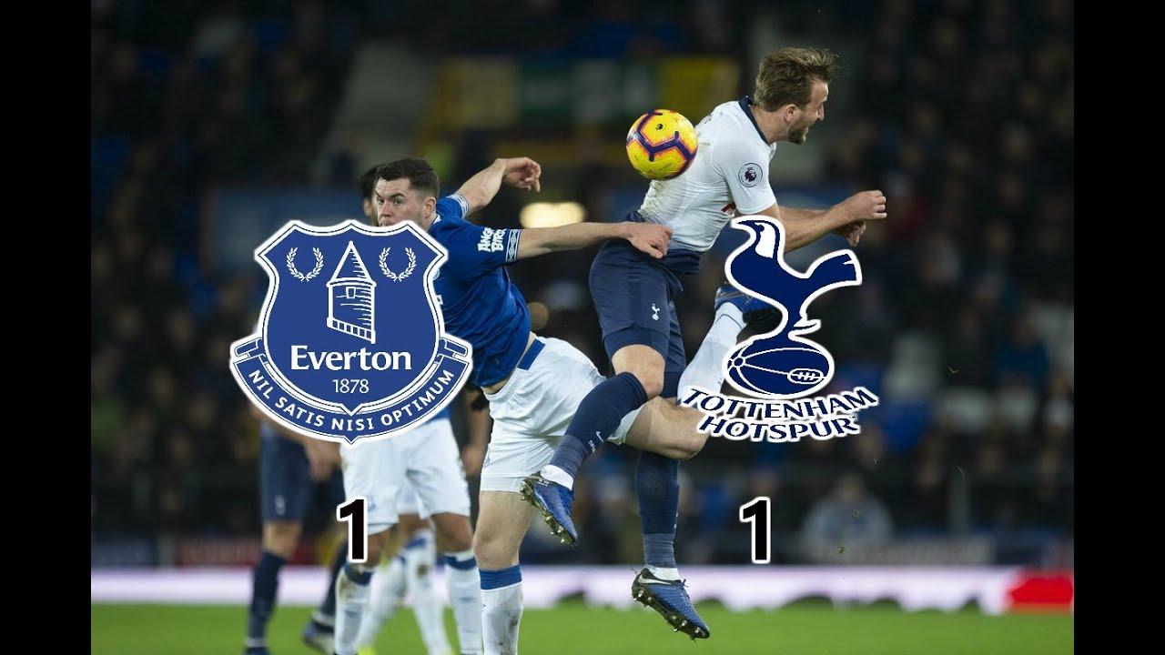 Everton VS Tottenham | HIGHLIGHTS PREMIER LEAGUE
