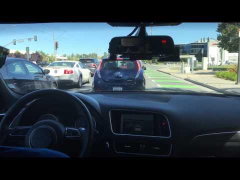 IntelとDelphiが共同開発した自動運転車でサンノゼ市内を自律自動走行