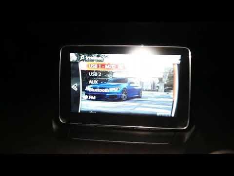 การใช้งานดูวีดีโอ บนจอมาสด้า (How to Video Player MZD Connect)