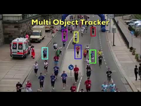 MultiTracker : Multiple Object Tracking using OpenCV (C++/Python