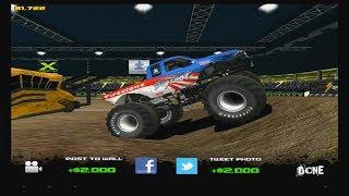 I try out Monster Truck Destruction (App Game)