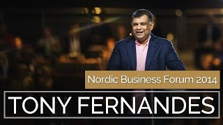 Tony Fernandes, CEO, AirAsia: Know Your Stuff and People | Nordic Business Forum 2014