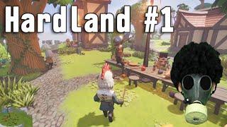 【Hardland 実況】 #1 メルヘンチックなちょいグロRPG 「Hardlandで大冒険」 Hardland gameplay