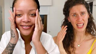 Skincare Expert Reacts To Rihanna's Nighttime Skincare Routine | Go To Bed With Me | Harper's BAZAAR