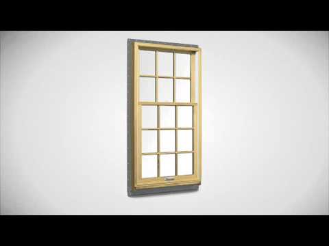 How To Tilt Andersen 400 Series Wash Double Hung Windows For Cleaning