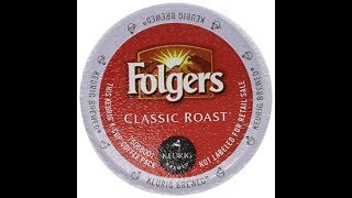 Folgers Classic Roast K-Cup Review