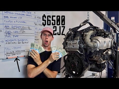 Pricing out the 2JZ Swap! How Much will it Cost?