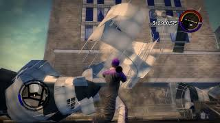 Saints Row 2 Blimp  Tsunami Glitch