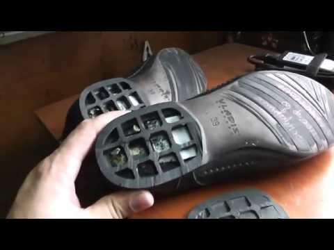 Ремонт обуви, заношеный каблук, набойки + косячки