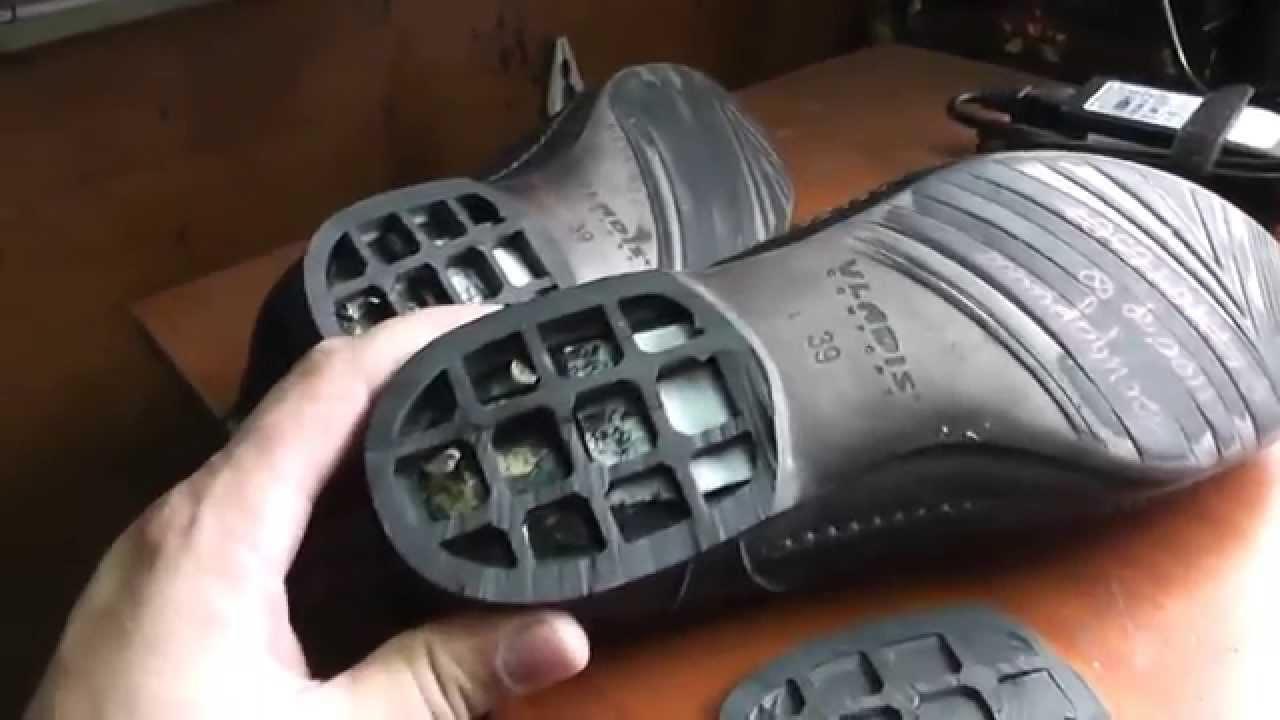Ремонт обуви. Материалы для набоек 1 - YouTube