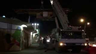 Аренда автокрана грузоподъемностью 80 тонн Екатеринбург(Работа Автокрана 80 тонн компании ООО