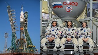 Soyuz MS-11 Getting Ready to Launch Expedition-57 Crew to ISS