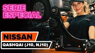 Cómo cambiar los brazo de suspensión delantera en NISSAN QASHQAI (J10, NJ10) [TUTORIAL DE AUTODOC]