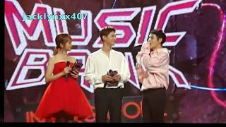 170804 - MC 2 (Special MC - BTS's V) - Music Bank in SG