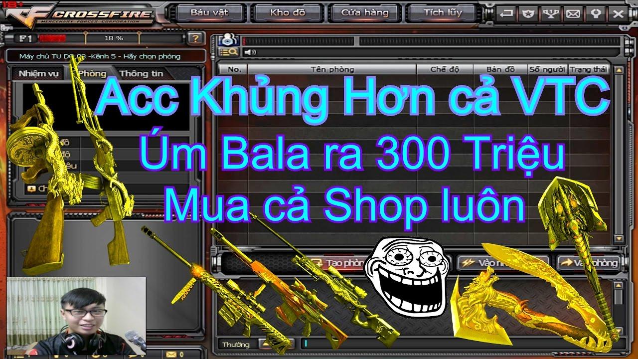 Acc Khủng Hơn cả VTC ☆ Kỷ Niệm Tặng Người Thân ✓ 「Pino.NTK」