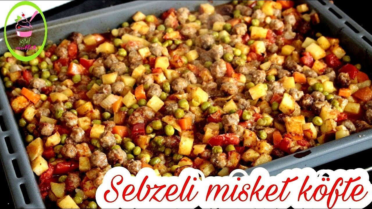 FIRINDA SEBZELİ MİSKET KÖFTE/Fırın Yemekleri/ŞEFFAF MUTFAK