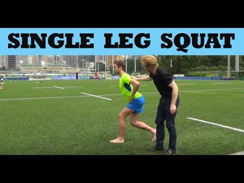 strength exercise for runners  single leg squat  youtube