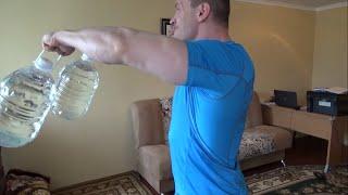 Как накачать плечи без гентелей в домашних условиях