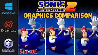 Sonic Adventure 2 - Battle | Graphics Comparison | ( Dreamcast , Gamecube , PC )