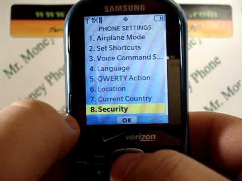 HARD RESET your Samsung Intensity II 2 DATA Wipe Master Reset (RESTORE to FACTORY condition)