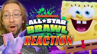 MAX REACTS: Nickelodeon All Star Brawl - Reveal Trailer