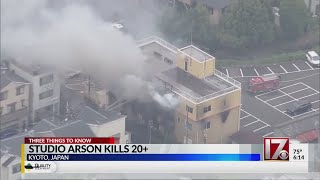 Arson at Japan animation studio kills 20+