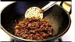 BEEF VARATTIYATHU Kerala Style Video Recipe--രുചിയൂറും നാടന് ബീഫ് ഫ്രൈ EPISODE:161