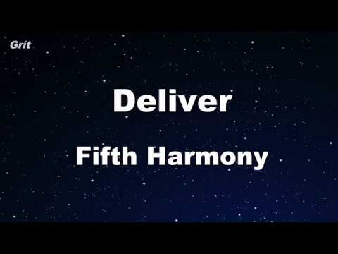Deliver - Fifth Harmony Karaoke 【No Guide Melody】 Instrumental