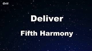 Deliver Fifth Harmony Karaoke No Guide MelodyInstrumental.mp3