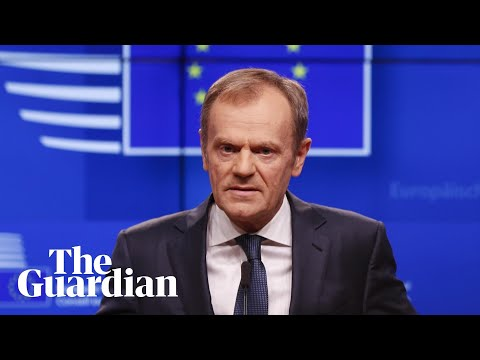 Donald Tusk: short article 50 extension possible only if MPs pass Brexit deal