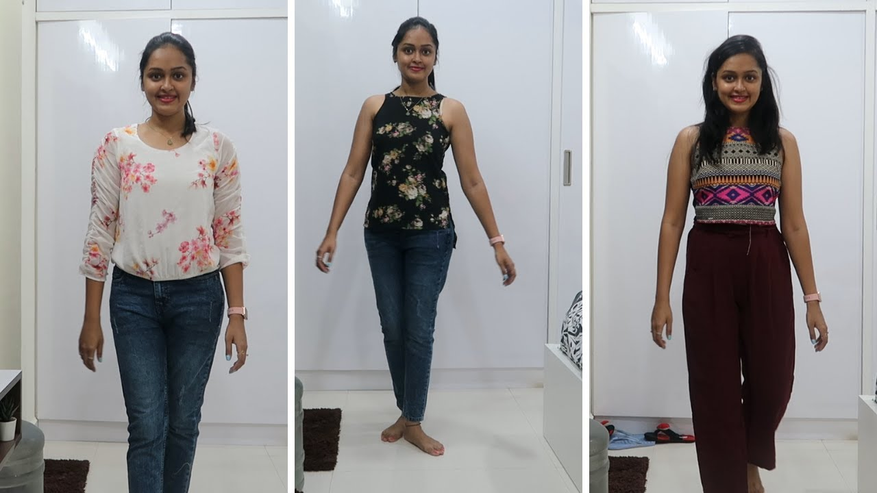 MYNTRA TRY-ON HAUL| Myntra Top & Bottom Haul | AFFORDABLE TOPS HAUL