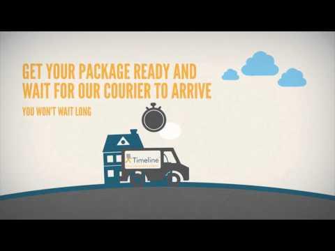 Timeline Logistics Courier Service Operations