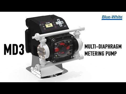 Chem-Pro® MD-3 Multi-Diaphragm Metering Pump