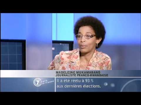 Relations France/Rwanda - Madeleine Mukamabano