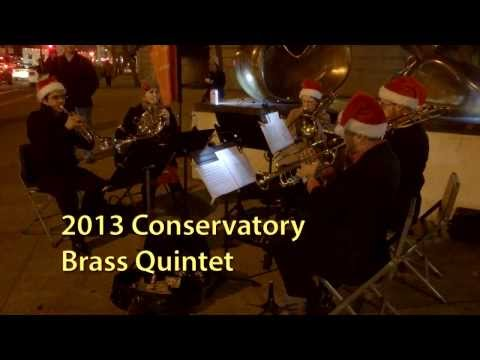 2013 San Francisco Conservatory of Music Brass Quintet