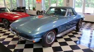 1967 Chevrolet Corvette For Sale~Matching 327/350~4 Spd~Marina Blue~Documented!!