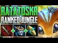 SMITE D1 Ranked Conquest - Ratatoskr Jungle | Nutty Plays!