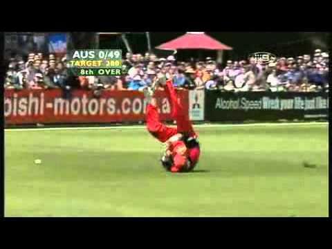 Angus Mackay cricket worst fielding ever !