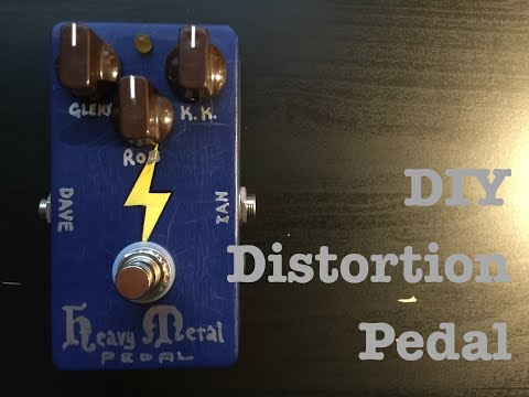 The Heavy Metal Pedal - DIY Distortion effect pedal
