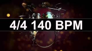 Drums Metronome 140 BPM