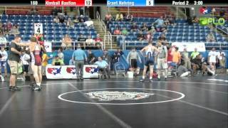 Baixar Junior 160 - Kimball Bastian (Utah) vs. Grant Nehring (Minnesota)