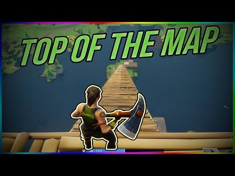 CLIMBING TO THE TOP OF THE MAP!! | FORTNITE FUNNY MOMENTS