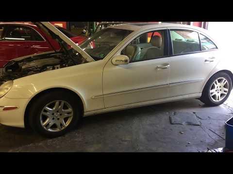 Mercedes Benz W211 E-Class No Start No Crank Starter Fuse