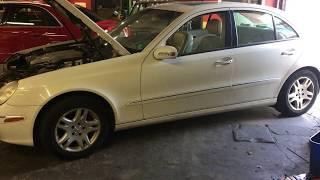 Mercedes Benz W211 E-Class No Start No Crank Starter Fuse F59