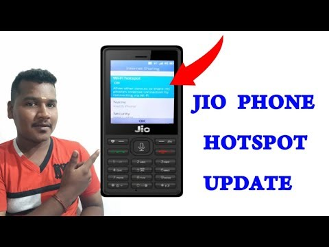 How to jio phone hotspot connect in tamil