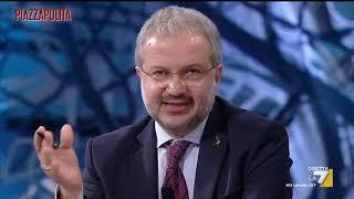Claudio Borghi contro il ministro Gualtieri: