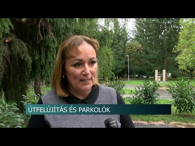 Útfelújítás és parkolók Dombóváron