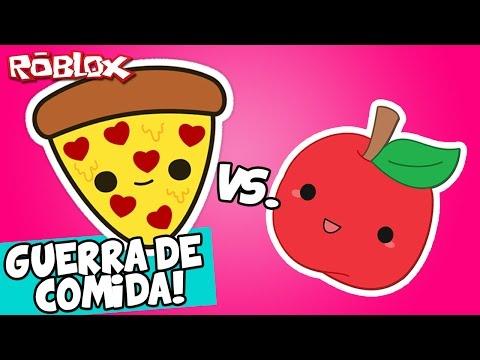 GUERRA DE COMIDA! – Roblox (Food Fight)