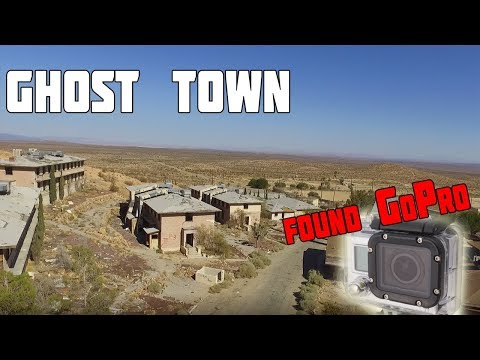 HUGE ABANDONED AIR FORCE BASE/GHOST TOWN SUBURBS (FOUND A GOPRO)