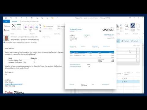 Microsoft Dynamics 365 for Finance and Operations, Business edition – quotes, invoicing, and payment